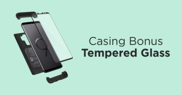 Casing Bonus Tempered Glass