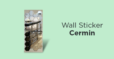 Wall Sticker Cermin
