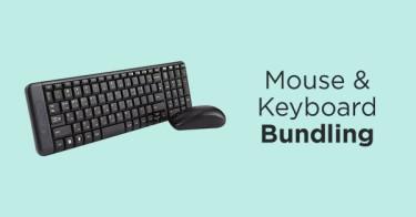 Mouse & Keyboard Logitech Bundling