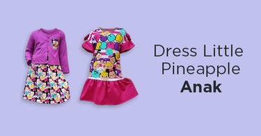 Dress Little Pineapple Anak