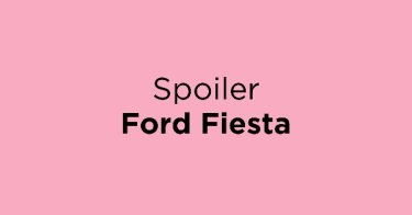 Spoiler Ford Fiesta