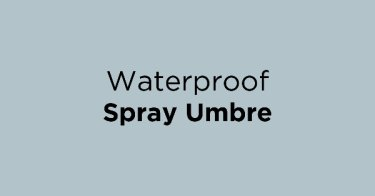 Waterproof Spray Umbre