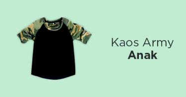 Kaos Army Anak