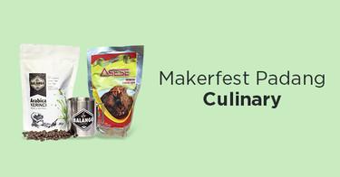 Makerfest Padang Culinary