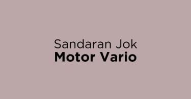 Sandaran Jok Motor Vario