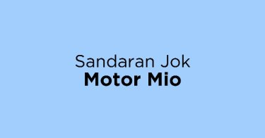 Sandaran Jok Motor Mio