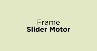Frame Slider Motor