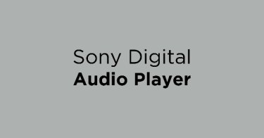Sony Digital Audio Player
