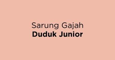 Sarung Gajah Duduk Junior