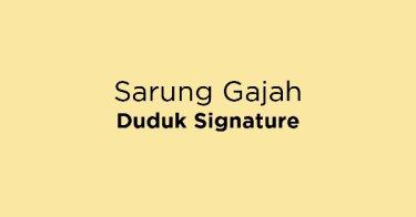 Sarung Gajah Duduk Signature DKI Jakarta