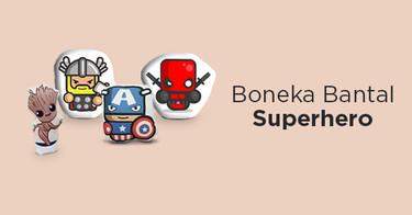 Boneka Bantal Superhero