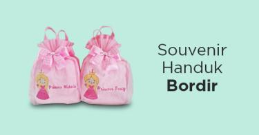 Souvenir Handuk Bordir
