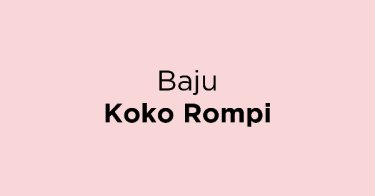 Baju Koko Rompi