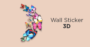 Wall Sticker 3D Palembang