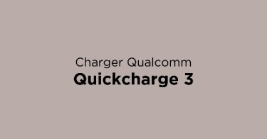 Charger Qualcomm Quickcharge 3