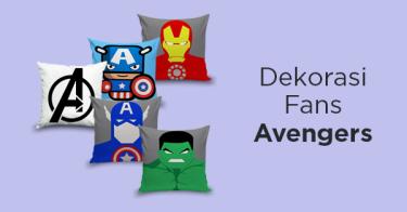 Dekorasi Super Hero