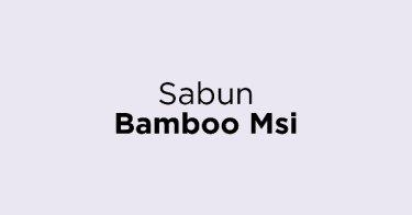 Sabun Bamboo Msi