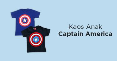 Kaos Anak Captain America
