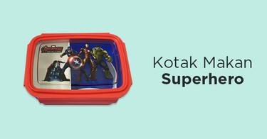 Kotak Makan Superhero