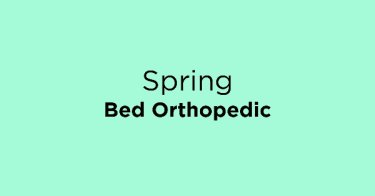 Spring Bed Orthopedic