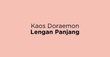 Kaos Doraemon Lengan Panjang