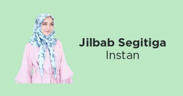 Jilbab Segitiga Instan Sumedang