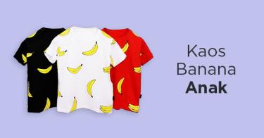 Kaos Banana Anak