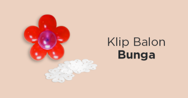 Klip Balon Bunga