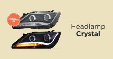 Headlamp Kristal Mobil