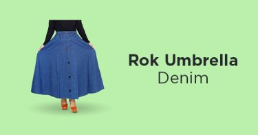Rok Umbrella Denim