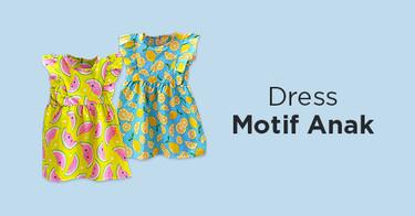 Dress Motif Anak