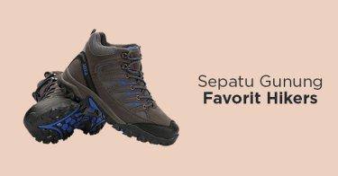 Sepatu Gunung Pria DKI Jakarta