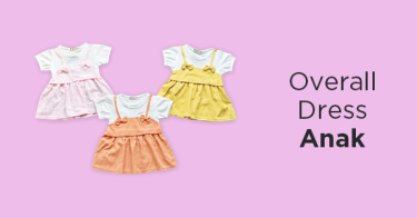Overall Dress Anak
