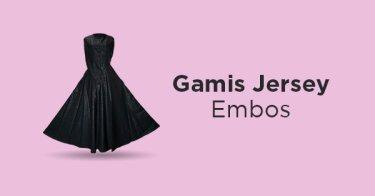 Gamis Jersey Embos DKI Jakarta