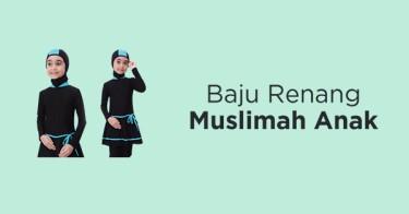 Baju Renang Muslimah Anak Palembang