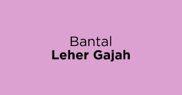 Bantal Leher Gajah