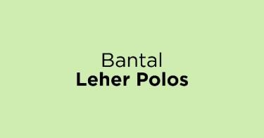 Bantal Leher Polos