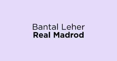 Bantal Leher Real Madrod