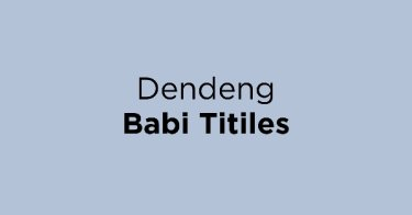 Dendeng Babi Titiles