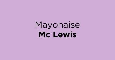 Mayonaise Mc Lewis