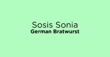 Sosis Sonia German Bratwurst