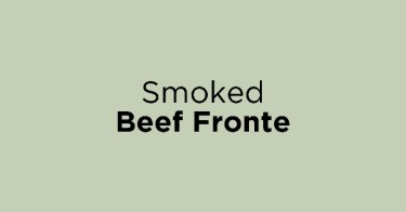 Smoked Beef Fronte