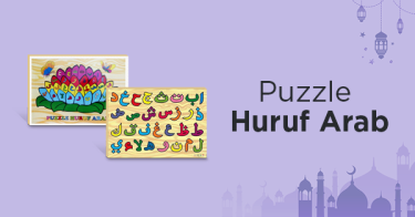 Puzzle Huruf Arab