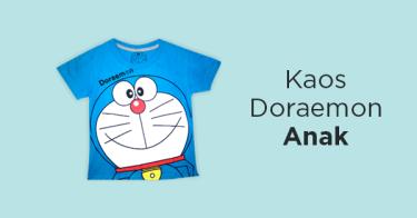 Kaos Doraemon Anak