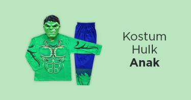 Kostum Hulk Anak