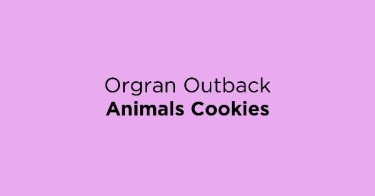Orgran Outback Animals Cookies