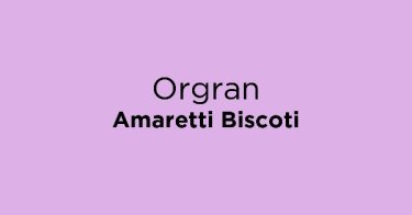 Orgran Amaretti Biscoti