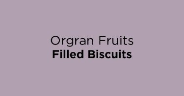 Orgran Fruits Filled Biscuits