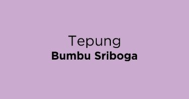 Tepung Bumbu Sriboga
