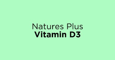 Natures Plus Vitamin D3